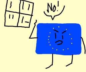 EU rejects loss