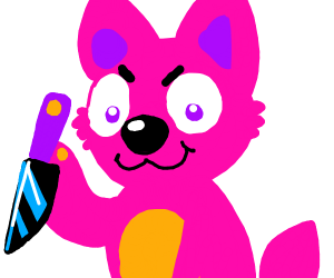 Furry about to brutally murder you