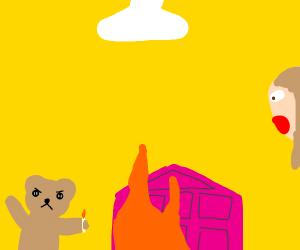 Destructive Teddy Bear