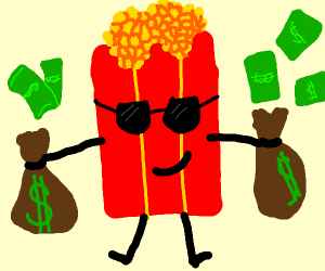 Wealthy Popcorn