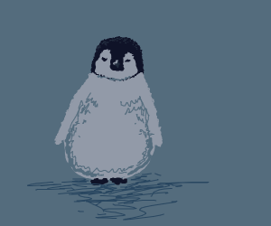 Penguin By Its Lonesome