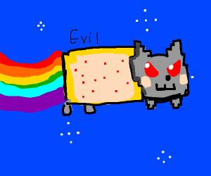 Evil Nyan Cat