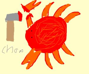 Crab dismemberment