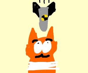 A bomb drops on Garfield