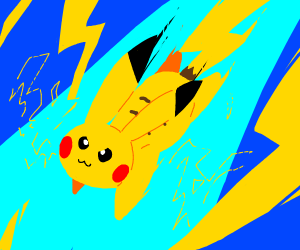 pikachu speeding