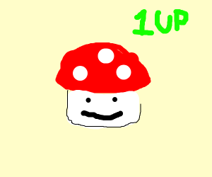 One of the mushroom subjects from Mario..?