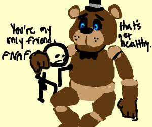 Boy's best friend is FNAF