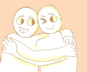 Awww, best friends forever