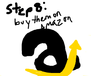 step 7: we need new gifts