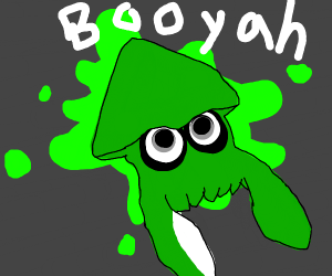 Inkling in squid form