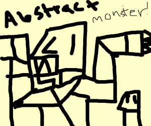 Abstract Monster