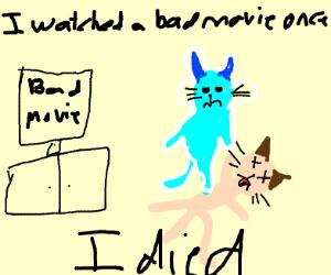 grumpy cat dies because of a bad movie