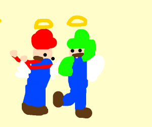 two videogame angels brothers