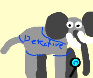 detective elephant