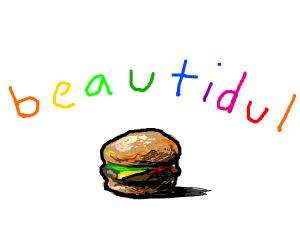 smol yet beautidul burger