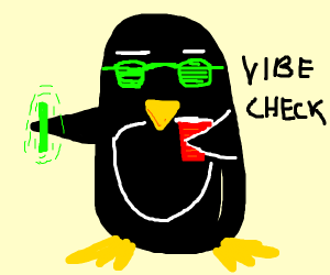 Rave penguin