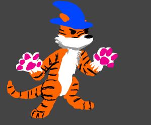 Tiger Wizard Mage