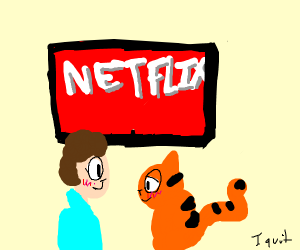 jon and garfield netflix and chill