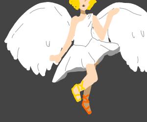 A falling angel