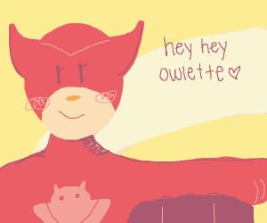 Owlette the superhero!