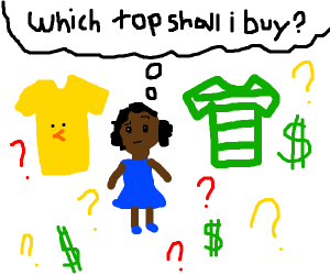 Which top shall i buy? wonders small girl