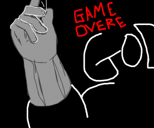 God says GAME OVER