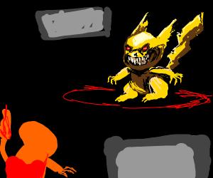 satanic pokemon battle