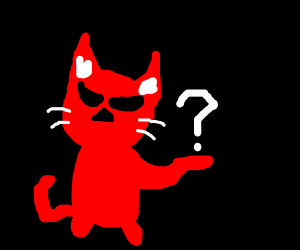"""Red cat gies """"?"""""""