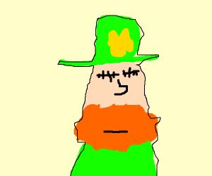 leprechaun can't quite see