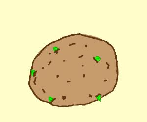 Sprouting Potato
