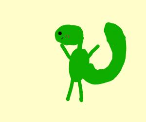 I'm a gecko, I'm a gecko, I'm a, gecko