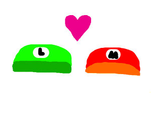 Mario loves Luigi