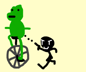 dat boi about to be assassinated