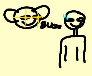 Giant Fly Terrorizes Man