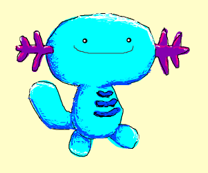 Wooper is enjoying having detailed shading
