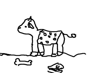 caveman cow