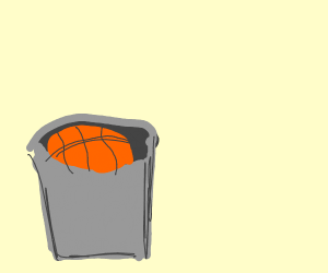 basketball bucket