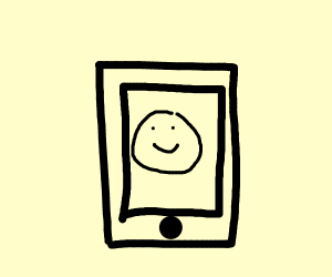 happy little cell phone