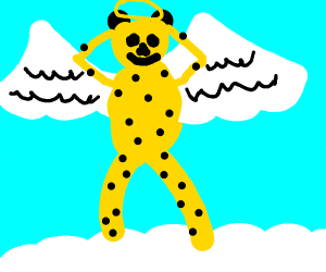 Cheetah enjoying the afterlife