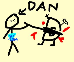 Dan defeats Drawception D
