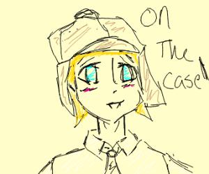 anime detective female