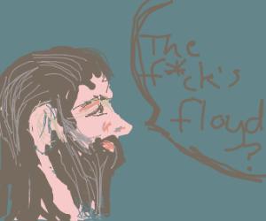Bearded man doesnt know floyd