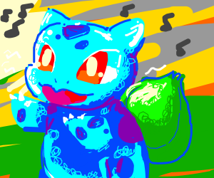Dancing Bulbasaur :D