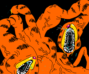 Garfield turned evil