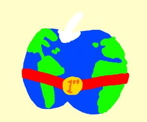 Earth apple wins race