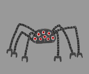 creepy spider robot