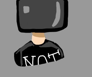 TV-headed man