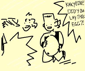 kakyoin did you lay this egg?!
