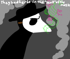 Stinky plague doctor