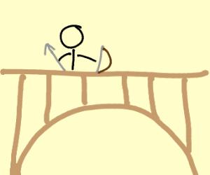 bow and bridge